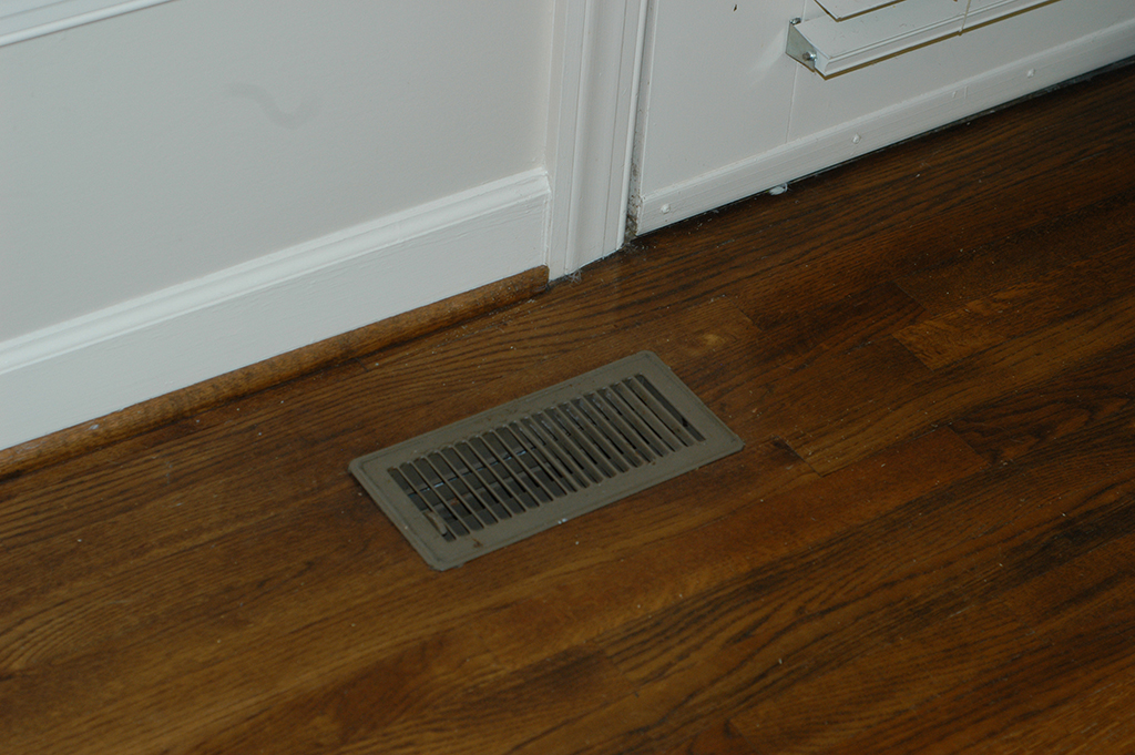 Flush Mount Wood Floor Vents